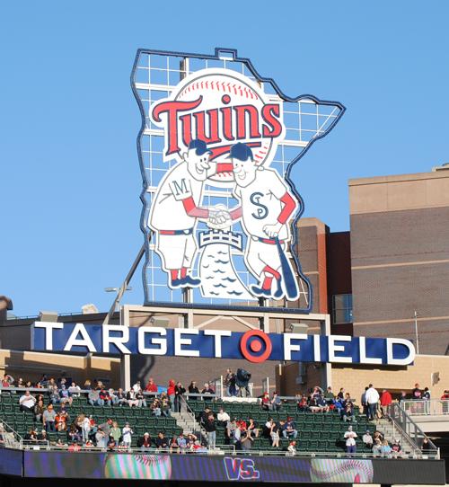 target field twins. stick--target field opener